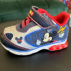 Other - Mickey Mouse Light up Shoes